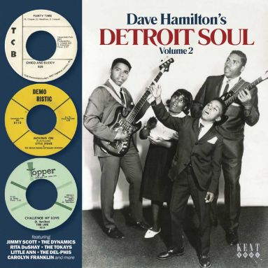 Dave Hamilton's Detroit Soul Vol 2 (MP3)
