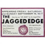 The Jagged Edge advert