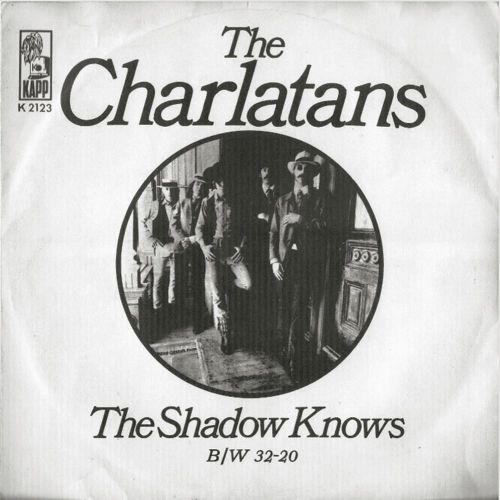 The Charlatans picture sleeve