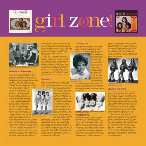 Girl Zone! LP inner 1