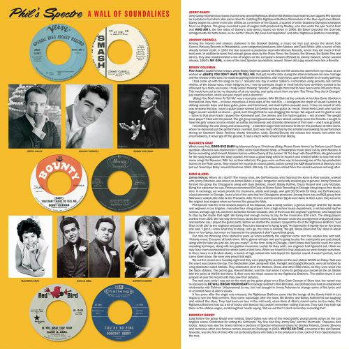 Phil's Spectre - A Wall Of Soundalikes LP inner sleeve 1
