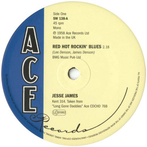 Red Hot Rockin' Blues / The South's Gonna Rise Again