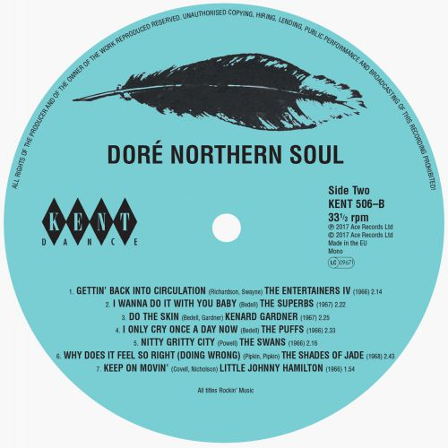 Doré Northern Soul (Side 2 Label)