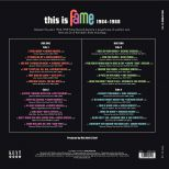 This Is Fame 1964-1968 back cover