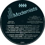 Modernists LP Label
