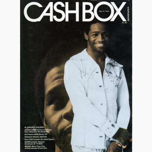 Al Green Cash Box cover