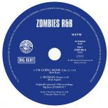 ZOMBIES R&B EP label side 1