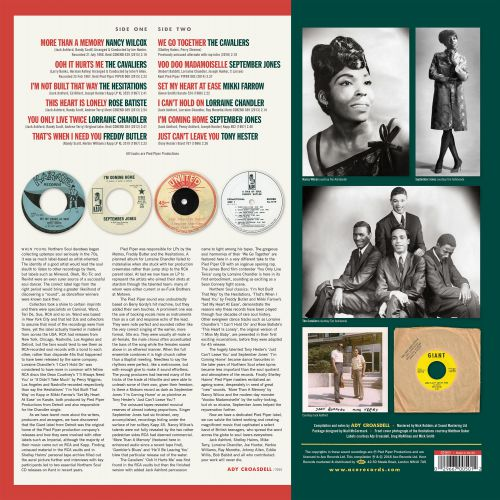 Pied Piper: The Pinnacle Of Detroit Northern Soul back cover