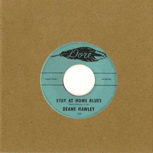 Deane Hawley - Stay At Home Blues/Good Morning Mr Sun (MP3)