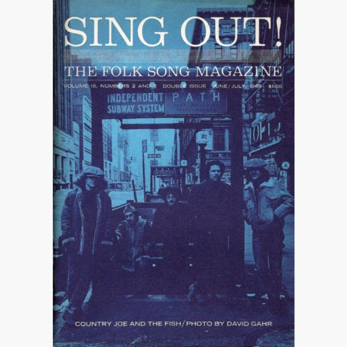 Country Joe & The Fish in Sing Out! magazine