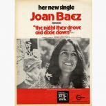Joan Baez advert