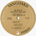 The Best Of Mississippi John Hurt side 2