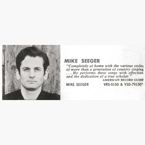 Mike Seeger courtesy Ace Records Ltd
