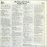 The Voice Of The Eagle LP back cover