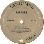 Zarthus LP label side 2