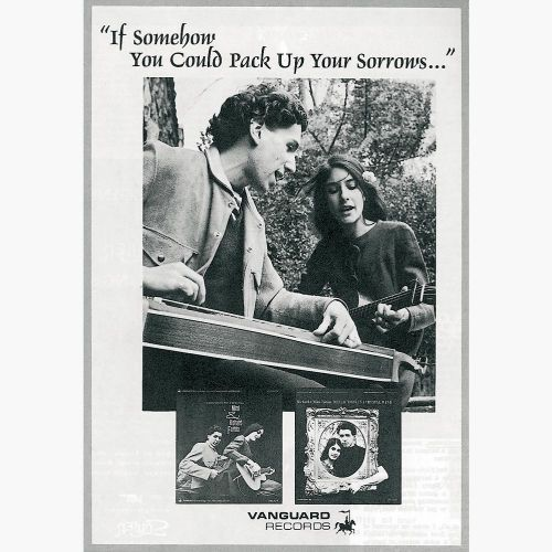 Mimi and Richard Fariña advert