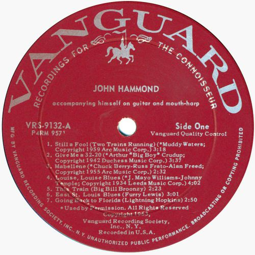 John Hammond side 1