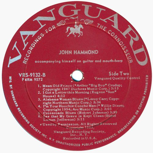 John Hammond side 2