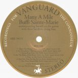 Many A Mile LP label side 1