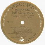 Many A Mile LP label side 2
