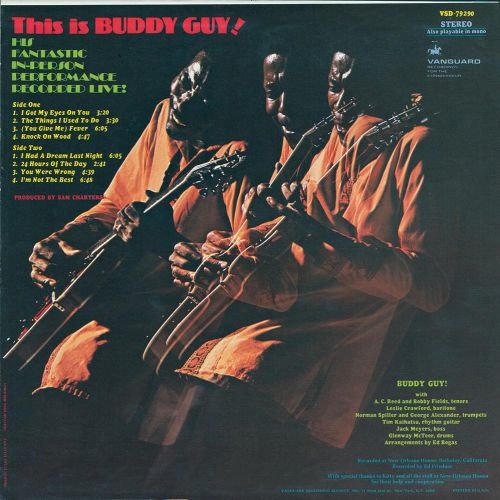 This Is Buddy Guy! LP sleeve back