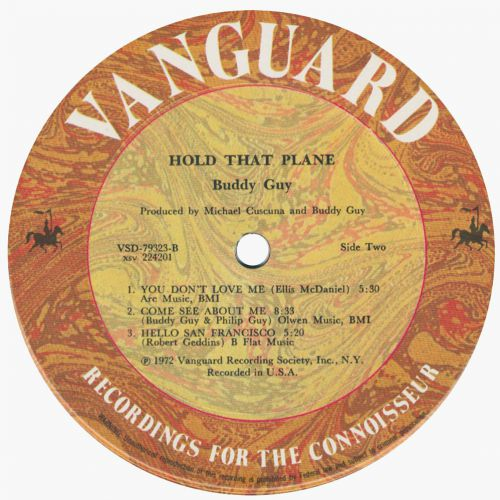 Hold That Plane! LP label side 2
