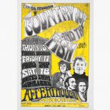 Country Joe & the Fish poster courtesy Joe McDonald