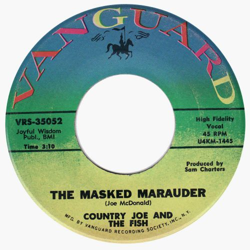 Country Joe & the Fish 'The Masked Marauder' courtesy Bill Allerton