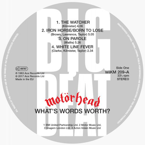What's Words Worth? label 1