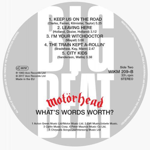 What's Words Worth? label 2