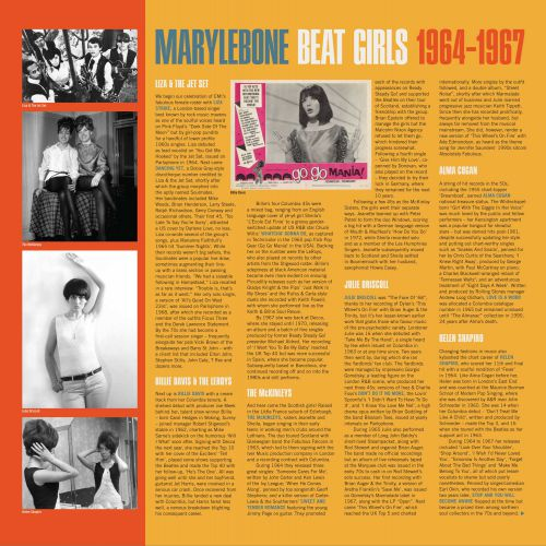 Marylebone Beat Girls Inner Sleeve