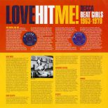 Love Hit Me! Decca Beat Girls 1963-1970 inner sleeve