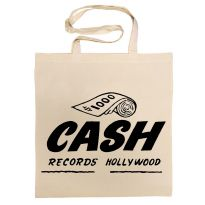 Cash Records Cotton Bag
