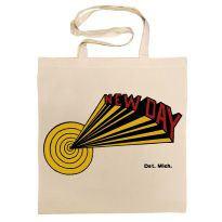 Dave Hamilton 'New Day' Cotton Bag