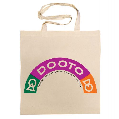 Dootone Records Rainbow Cotton Bag