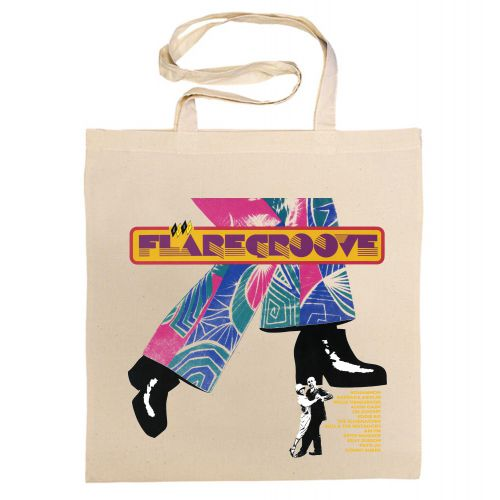 Flare Groove Cotton Bag