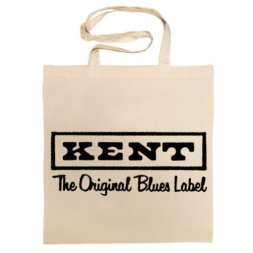 Kent The Original Blues Label Cotton Bag