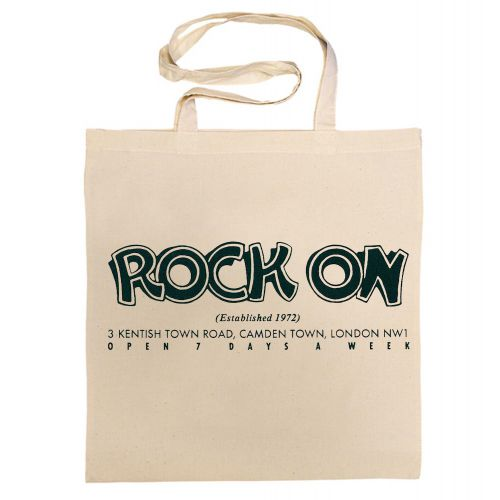 Rock On Cotton Bag
