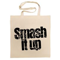 Smash It Up Logo Cotton Bag