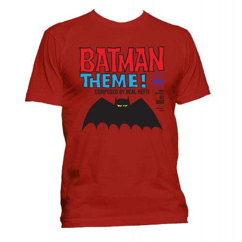 Batman Theme T Shirt Gold [40]