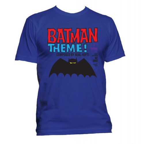 Batman Theme T Shirt Gold [51]