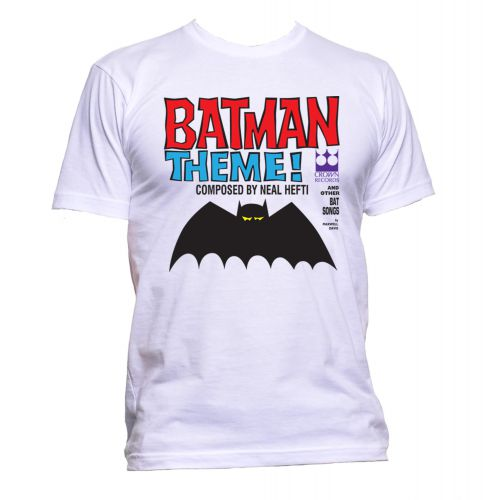 Batman Theme T Shirt Gold [30]