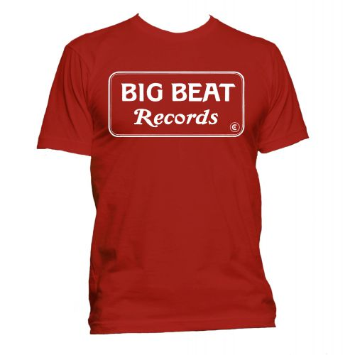 Big Beat US style T Shirt Red [40]