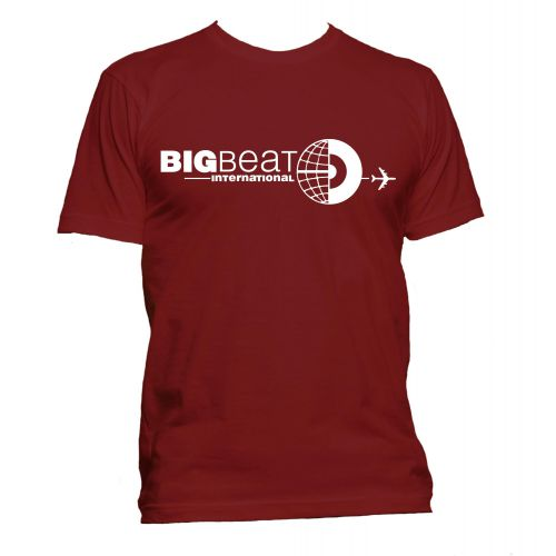 Big Beat International T Shirt Cardinal Red [11]