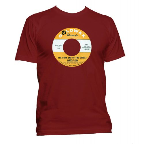 Dark End of the Street Goldwax Label T Shirt Cardinal Red [11]