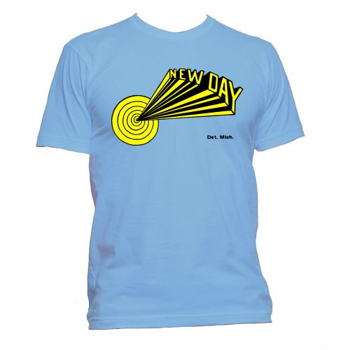 Dave Hamilton 'New Day' T Shirt Carolina Blue [109]