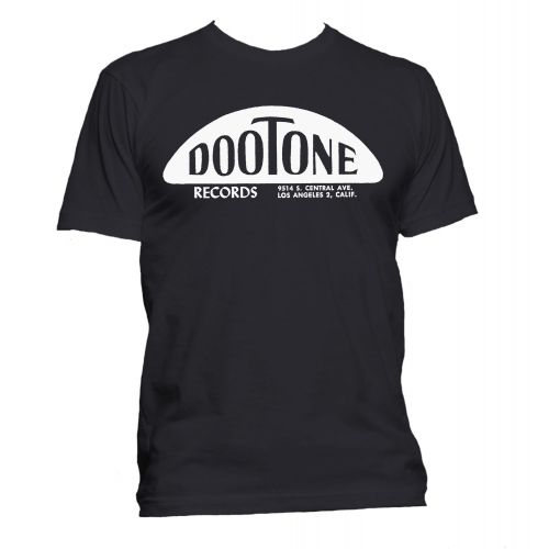 The Dootone Records T Shirt Black [36]