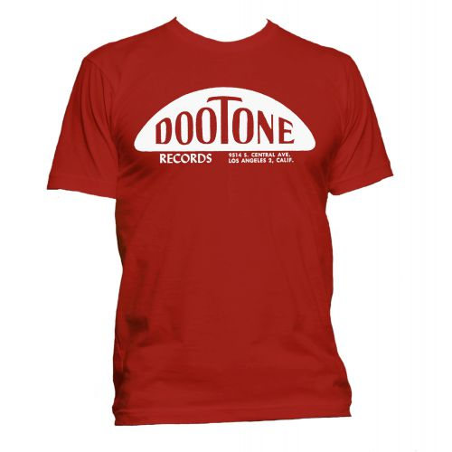 The Dootone Records T Shirt Red [40]