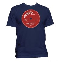 Hawaiian Boogie Flair Records Label T Shirt