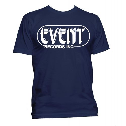 Event Records Inc. T Shirt Navy [32]